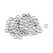 4mmx2mm 304 Stainless Steel Split Lock Spring Washers Screw Spacer Pad 50pcs