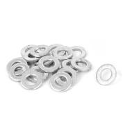 6mm x 12mm Zinc Plated Flat Pads Washers Gaskets Fasteners GB97 20PCS