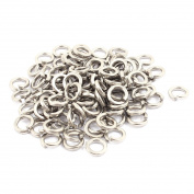 100pcs 4x6mm 304 Stainless Steel Rectangular Section Split Lock Spring Washers