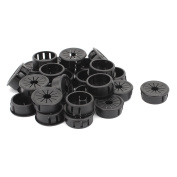 Cable Hose 25mm Mount Dia Snap in Webbed Bushing Harness Grommet Protector 26pcs