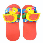 Hosaire Kids Sewing Craft Kit Fabric DIY Crafts Duck Pattern Slipper Children Sewing Projects Educational Art Toy