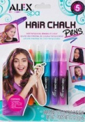Alex Spa Hair Chalk Pens 5 Colours