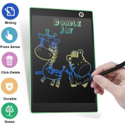25cm LCD Writing Tablet Graphics Drawing Tablet Magnetic Memo Boad Notice Fridge Message Pads Ewriter for Home Office Kids