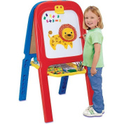 3-in-1 Magnetic Letter Double Easel with Drawing Activity Board Kids Art