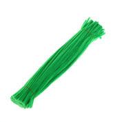 Fengzhicai 100Pcs Chenille Stems Pipe Cleaners Twist Rods Kids DIY Craft Educational Toy - 10#