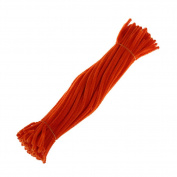 Fengzhicai 100Pcs Chenille Stems Pipe Cleaners Twist Rods Kids DIY Craft Educational Toy - 11#