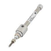 Single Rod Double Action 1.0 MPa Stainless Steel Mini Air Cylinder 6mm x 30mm