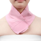 Sharplace Pink Gel Elasticity SPA Moisturising Neck Skin Care Wrapping Protective Band