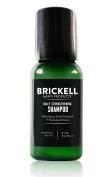 Brickell Men's Daily Strengthening Shampoo for Men – 60ml – Natural & Organic