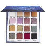 DE'LANCI Eyeshadow Makeup Palette- 4 Matte +8 Bright Shimmer +4 Duo Chrome Eyeshadow- Highly Pigmented Eye Shadows Powder Makeup Set with Mirror