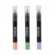 DMM Colour Correcting Trio Dark Circles Discolouration Redness Corrector Concealer Pencils