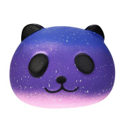 Dragon868 10cm Galaxy Cute Panda Cream Scented Squishy Squeeze Slow Rising Kids Toy Children Adult Decompression Toy