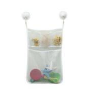 Kids Baby Bath Time Toys Storage Suction Bag Bathroom Toys Bag 33cm x 45cm