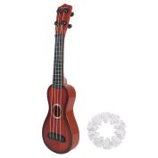 Baoblaze 4 Strings Musical Toy Plastic Small Style Ukulele Children's Acoustic Guitar
