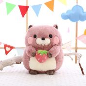 Ocamo Cute Plush Groundhog Toys Soft Stuffed Woodchuck Doll Gifts for Adults & Children Plush Toys