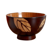 Baby Bamboo Bowl,Y56 All Natural and Organic Baby Bamboo Suction Stay put Bowl