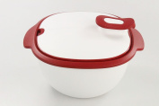 Tupperware Thermo-Duo 3.25 L Warmie Container 9935 TUP White/Red