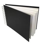 Artway Studio - Wiro Bound Sketchbook - Acid Free Cartridge Paper - Hardback Cover - 170gsm 96 Sides - A5 Landscape