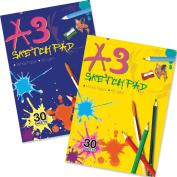 Artbox A3 Sketch Pad - Assorted