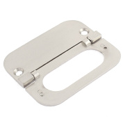 Unique Bargains Furniture Cabinet Drawer Pull Handle Ring 75 x 35 x 5mm