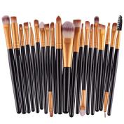 Make up Brushes,   20 PCS   Makeup Brush Set tools Make-up Toiletry Kit Wool Make Up Brush Set