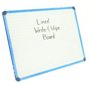 Copernicus CEPAC455 Magnetic Lined Dry Erase Board Grade Kindergarten to 1 Age 60cm Wide, 90cm Length, 3.8cm Height