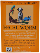 faecal WORM TEST for All types of Pets(Dogs, Cats, Birds, Reptiles, Rabbits, Lions, Turtles)