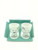 Swan household ® - Novelty Couples Egg Cups Cute Design