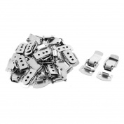 18pcs Suitcase Chest Tool Boxes Metal Spring Loaded Toggle Latch Clasp