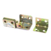 10pcs 20mmx20mm Shelf Corner Brace Joint 4 Holes Support Right Angle Bracket