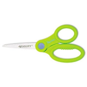 ACME MADE 14607 Kids Scissors With Antimicrobial Protection, Assorted Colours, 13cm Pointed