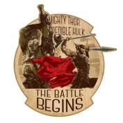 MARVEL travel sticker / Mighty So Battle Royale