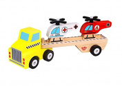 Tooky Toy Helicopter & Carrier Children Toys