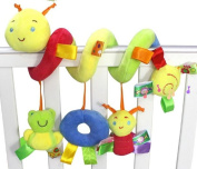 Generic Caterpillar With Satin Tags for Baby
