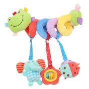 CH Baby Activity Spiral Wrap Around Crib Bed Bassinet Stroller Rail Toy
