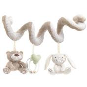 Heyuni. Baby Newborn Cot Spiral Activity Hanging Animal Stroller Pram Toys Decor