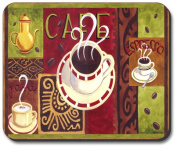 Art Plates Mouse Pad - Coffee Cafe