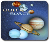 Art Plates Mouse Pad - Outer Space