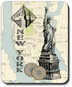 Art Plates Mouse Pad - New York