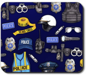 Art Plates Mouse Pad - Police Department