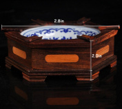 THUNFER Ashtray Automatic Wood Semi-automatic Smoked Wood Crafts Gifts Valentine's Day To Send His Father