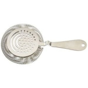 Professional Stainless Steel Sprung Julep Cocktail Strainer, Drink Strainer for Bartenders …