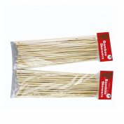 Dsstyle 1 Bag of Bamboo Stick Skewer for Outdoor Barbecue about 90PCS