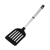 Demiawaking Nylon Slotted Turner Kitchen Cooking Untensils Spatula Turner Stainless Steel Nonstick