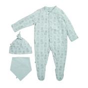The Little Green Sheep Wild Cotton Organic Baby Gift Set