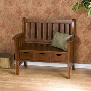 Bench / Storage Bench, Contemporary Home Decor Davidson Storage Wood Entryway Bench CSN9403/WF4403 , Assembly Required