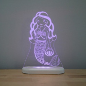 Aloka Mermaid Starlight Multi-Coloured LED Light with Remote Control, Mulit-Colour Chaning, 20cm