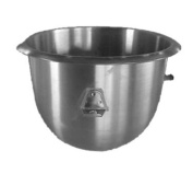 Alfa 10VBWL Mixing Bowl 9.5l stainless steel replacement for Hobart mixer mo