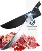 DALSTRONG Butcher's Breaking Cimitar Knife - Gladiator Series 25cm Slicer - German HC Steel - Sheath Guard Included