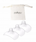 purifyou Premium Nipple Shield, Non-Toxic, BPA & BPS Free, Designed for Comfort in Baby's Mouth